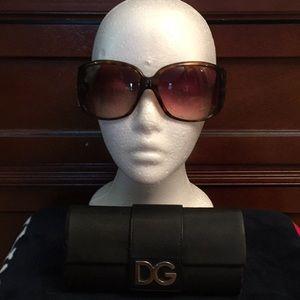 Accessories - Designer DOLCE GABBANA sunglasses, Brown
